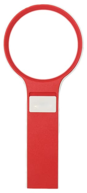 Stealodeal Power Plus Red 67mm Led Magnifying Glass