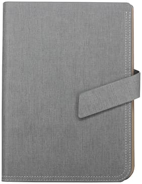 STOLT PU Grey Color Diary