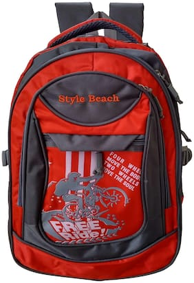 JetBags 20 ltr School bag - Red
