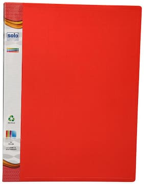 Student's Ring Binder (17mm Ring) (pack Of 3) - Red