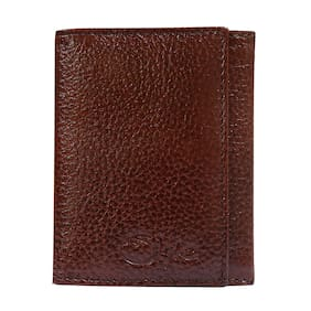 STYLE SHOES Leather Brown Atm, Visiting, Credit Card Holder, Pan Card/ID Card Holder, Pocket wallet Genuine Accessory for Men and Women