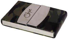 Style Shoes Steel Atm/Visiting/Credit Card Holder;Business Card Case Holder 6 Card Holder