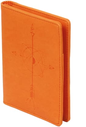 Sukeshcraft RFID Safe  Pu Passport Holder Cover Case Travel Document Organiser