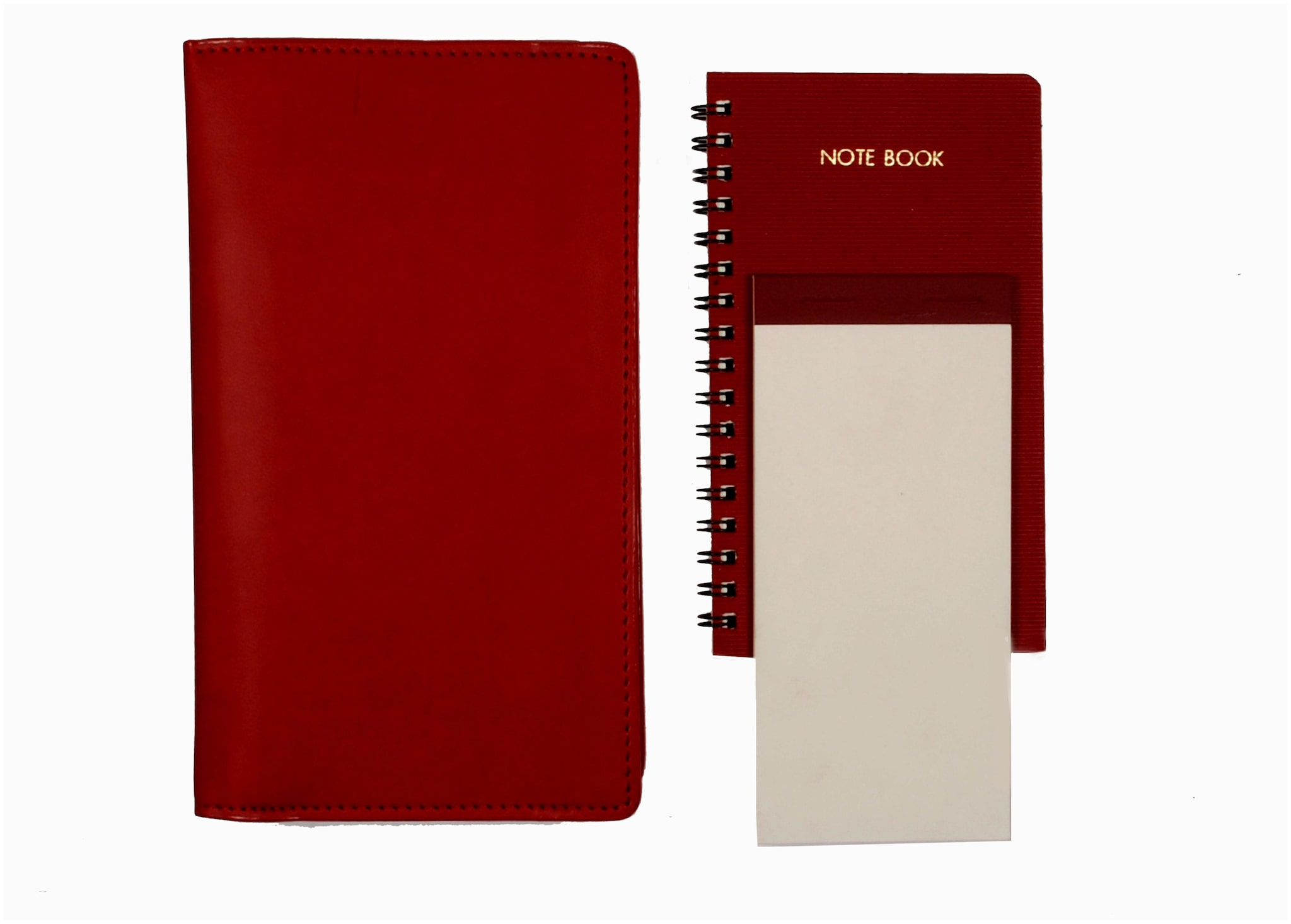 Sukeshcraft Mobile Note Pad with spare Notebook And Writing Pad Size 6.5X4.2 Inch.Mehroon