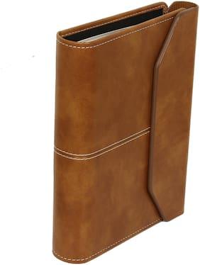 Sukeshcraft Planner Covered with Magnetic Flap, Round Ring 6 Holes with Year Long Stationery