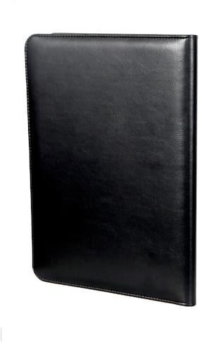 Sukeshcraft A4 Executive File Folder Document Storage 11.70 X 8.1 Inch Writing Pad (Black)