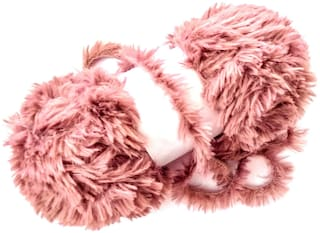 Super Soft Faux Fur Chunky Wool Yarn for Knitting and Crochet Project, 100 gm - Phalsa