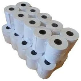 Swaggers 3 inch swipe machines thermal rolls (set of 50 rolls)