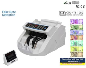 Swaggers Cash Counting Machine With MG;UV;IR;Fake Note Detection