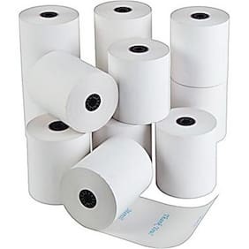 SWAGGERS THERMAL PAPER PRINTING ROLL BEST QUALITY PAPER WHITE PLAIN PAPER (2 INCH SET OF 10 ROLLS)