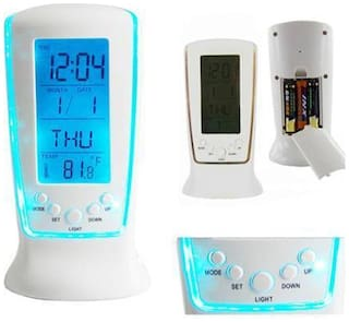 Backlight Table Digital Clock for table and Study Desk