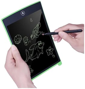 Tech Gear 8.5 Inch Writing Tablet LCD Super Bright Electronic Writing Doodle Pad Drawing Board Office School Writing Board