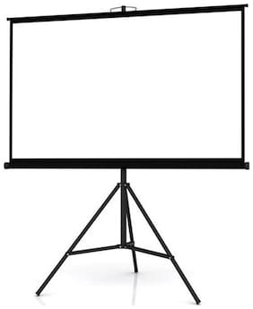 Technolite Tripod Type Projector Screen in Imported High Gain Fabric, 8 ft. x 6 ft.