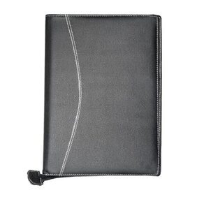 TEP Executive Series Black Leather Document Bag (20 Leavs)