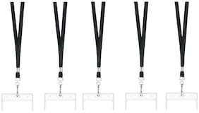 TEP I.D. Card Holder Badge With Lanyard ( Set of 5)