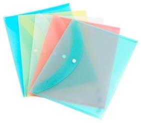 TEP My Clear Bag Plain Set of 20 Multicolor