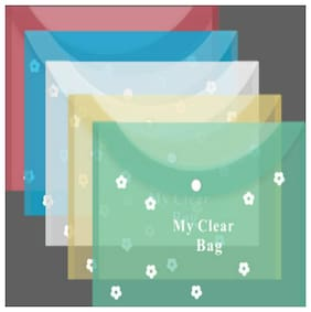 TEP My Clear Bag Flower Pack of 10