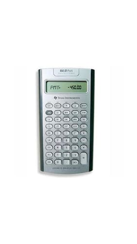 buy texas instruments ba ii plus professional financial calculator online at low prices in india