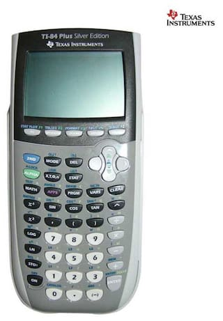 Texas Instruments 84 Plus Silver Edition Graphing Calculator
