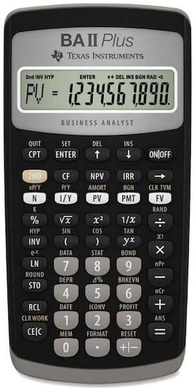 Texas Instruments BA II Plus Financial Calculator (Black)