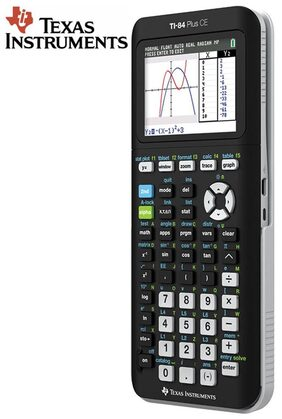 Texas Instruments Stealodeal TI-84 Plus CEGraphical Calculator