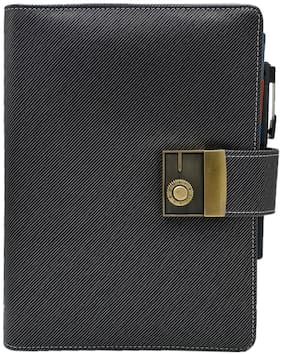 The Black Business Organizer with Pen by Baluchi