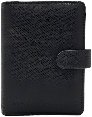 The Black Mini Business Organizer with Pen by Baluchi