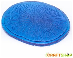 "The Craftshop Fondant Clay Veiner - Lotus Leaf, Size : 3.75"" x 4"""