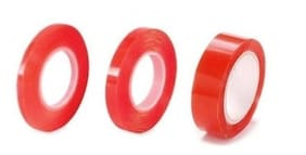 The Craftshop Red Tacky Tape Set 3 pcs