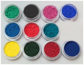 Thermochromic Color Changing Slime Goo Sampler 11 colors pigment powder thermal