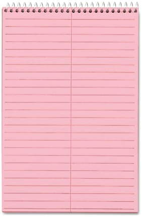TOPS Prism Steno Books Gregg 6 x 9 Pink 80 Sheets 4 Pads/Pack 80254