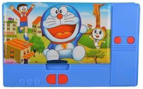 Toyvala Printed Jumbo Multifunctional Pencil Case (Blue)
