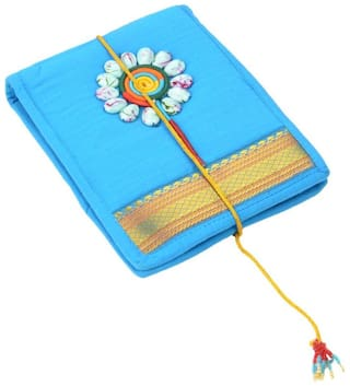 Tribes India Blue Cotton  ROUGH PAD