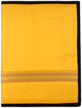 Tribes India Handicrafted File Folder Satin Without Flap;14 inch x 10 inch
