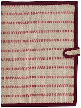 Tribes India Handicrafted Jute File Folder;14 inch x 10 inch