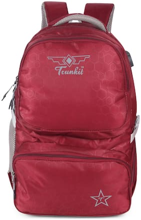 TRUNKIT 30 School bag & Backpack - Maroon
