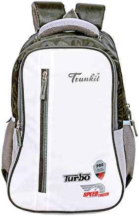TRUNKIT 30 l Backpack & School bag - White & Black