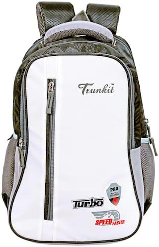 TRUNKIT 30 l Backpack & School bag - White & Black
