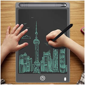 TSV Portable Re-Writable LCD E-Pad, Paperless E-Writer with Stylus, Digital Notepad Graphic Tablet for Writing and Drawing