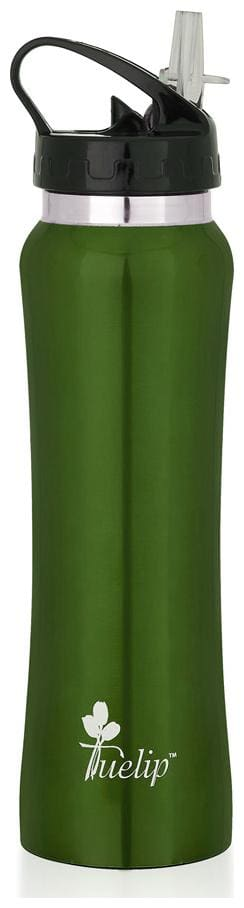 Tuelip Stainless Steel Water Bottle For College,School,Gym & Sports Water Bottle 750 ML  Green