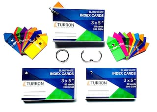 Buy Turron Set of 3, Big 3 x 5 inch Ringed (Detachable