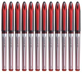 Uniball Air UBA 188 L Red Roller Ball Pen