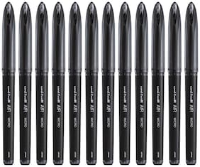 Uniball Air Black Roller Ball Pen (Pack Of 12)