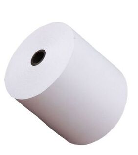 Vardhaman Thermal Paper Roll 79 mm x 50 mtr (Pack of 24 rolls)