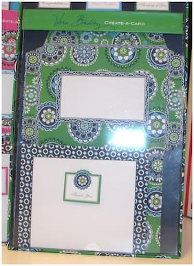 VERA BRADLEY CHOICE OF ONE CREATE A CARD SET NICE FOR GIFTING!  NEW IN BOX