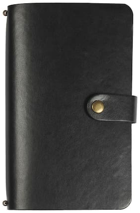 Viva CEO Planner - B6 -(Black) With 2 Extra Notebook Refills + Storage pocket, Pen Holder, Card Slots