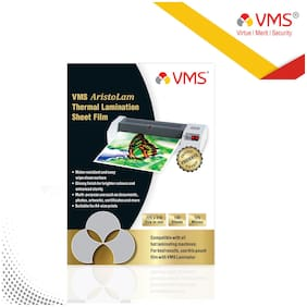 VMS Aristolam Thermal Lamination Pouch 225x310mm 125 Micron    (100 Sheets)  for Certificate and Documents