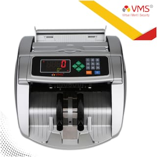 VMS Essentials Money Counting Machine with UV, MG, IR, and MT Counterfeit Bill Detection plus external display