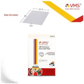 VMS Professional 260 GSM A4 Photo Paper Semi Glossy (20 Sheets)
