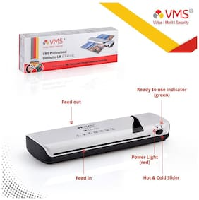 VMS Professional LM-classic Lamination / Laminating Machine Hot & Cold A3 Laminator (Photos ID,I-Card,Documents,Certificate)